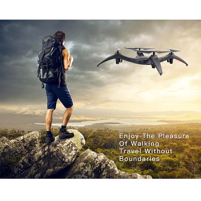 Get $6  Off For 2.4G Wifi FPV 2.0MP Camera Detachable Arm Altitude Hold RC Quadcopter  with code  Only $49.99 +free shipping