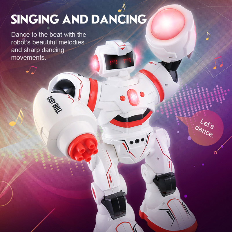 Get $3  Off For JJR/C R3 CADY WILL Intelligent Combat Programming Multi-Control Modes Robot RC Toy Gift with code EJ5993 Only $46.99 +free shipping