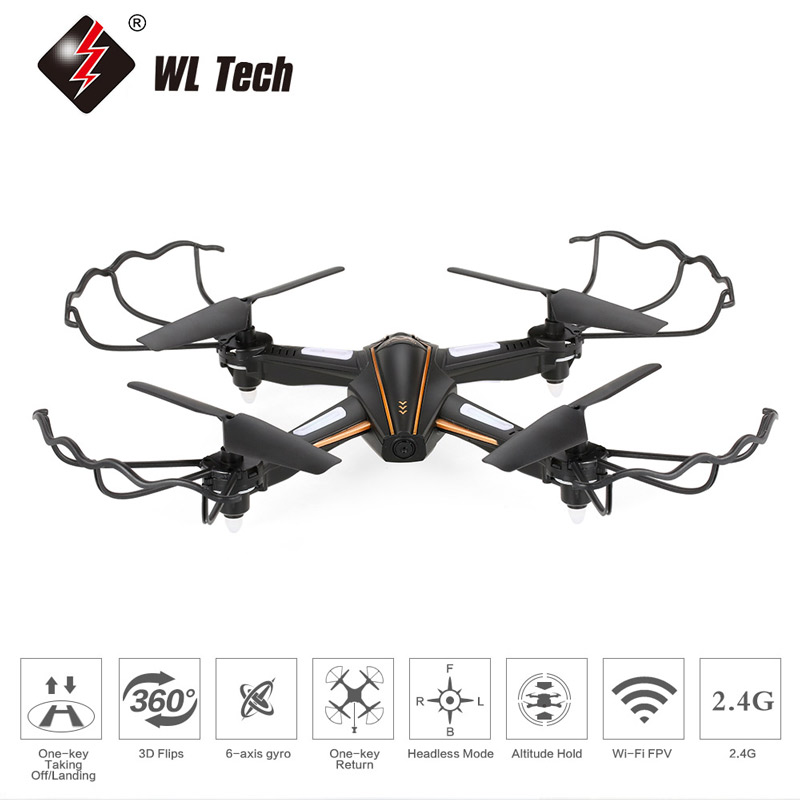 40.99$ for WL Tech  Wi-Fi FPV 0.3MP Camera Selfie Drone