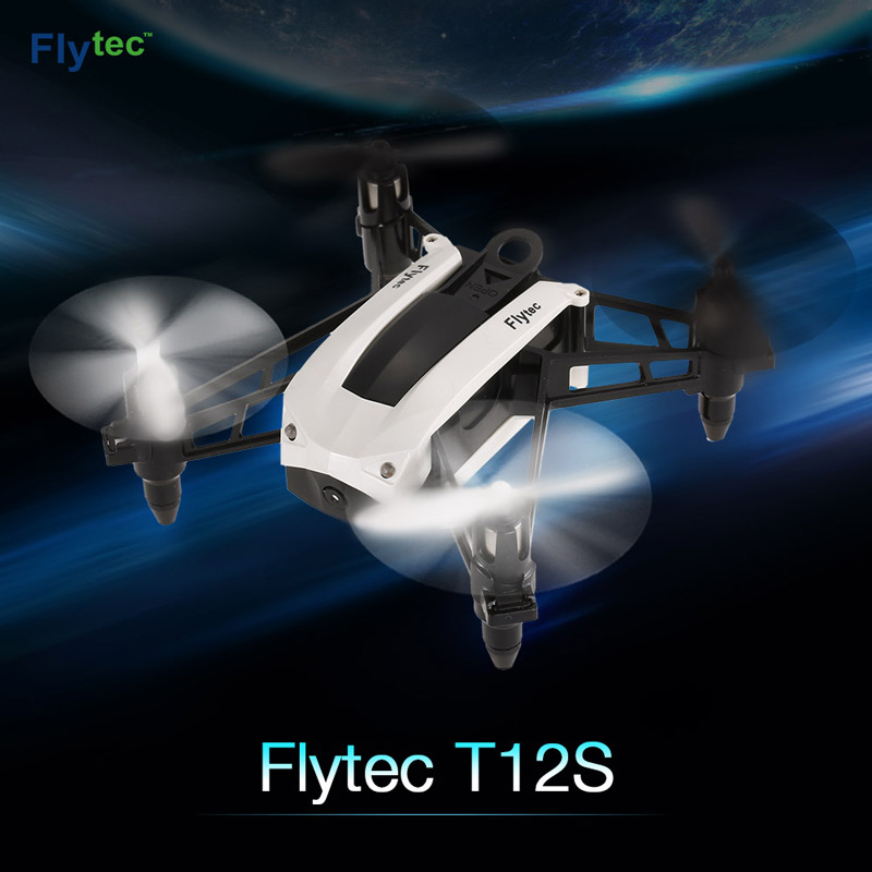 Get $4  Off For Original Flytec T12S WiFi FPV 0.3MP Camera Selfie Drone Altitude Hold G-sensor RC Quadcopter with code  Only $38.99 +free shipping