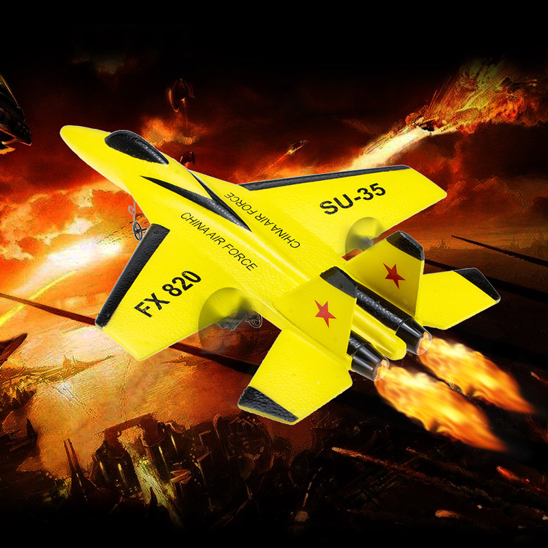 Only 27.99$ off Flybear FX-820 2.4G 2CH Remote Control SU-35 Glider 290mm Wingspan airplane