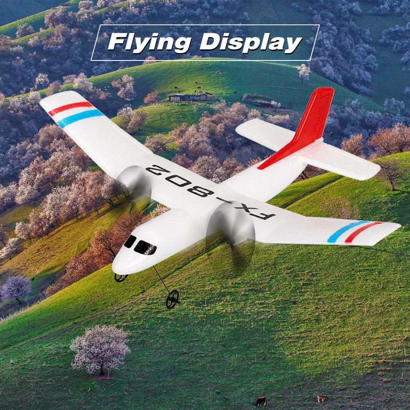 Get $4  Off For Flybear FX-802 2.4G 2CH Remote Control Glider 310mm Wingspan EPP Micro Indoor RC Airplane Aircraft RTF  with code  Only $23.99 +free shipping