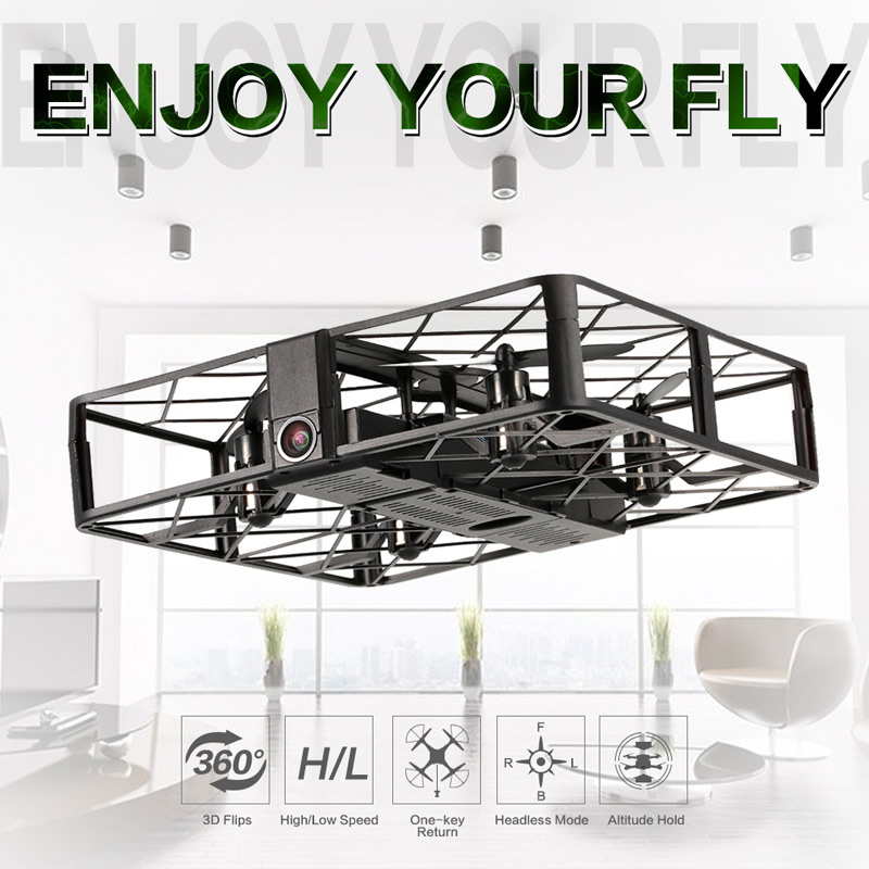 Only 35.99$ for Z8W 720P Wide Angle Camera Wifi FPV Square Drone Height Hold One Key Return