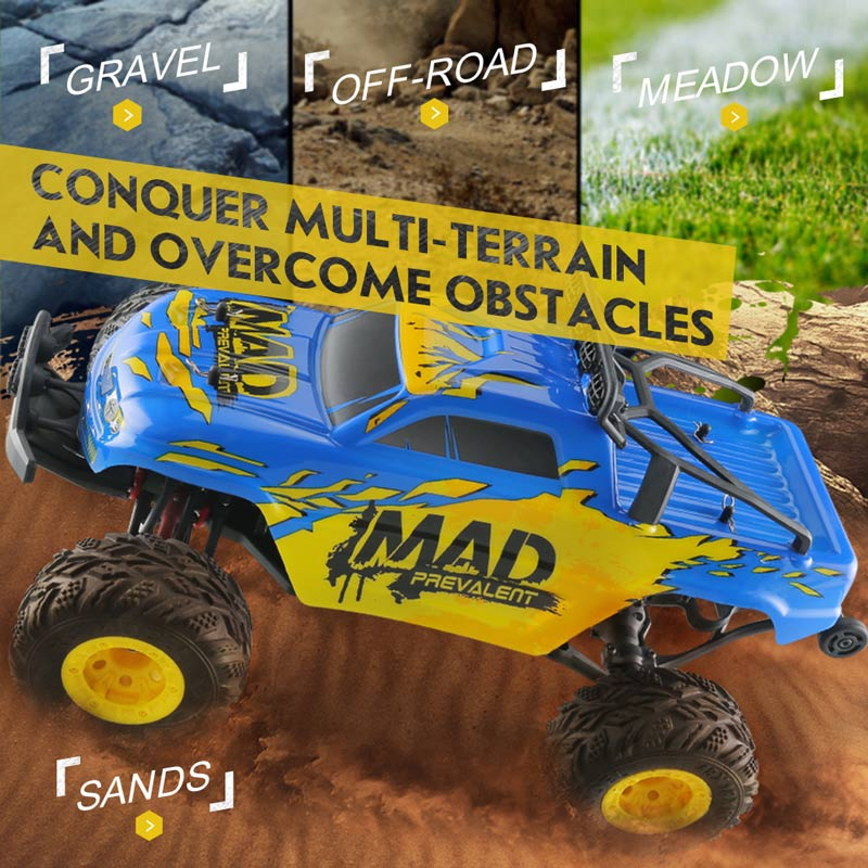Get $10 Off For JJRC  Q40 Mad Man 1/12 2.4G 4WD Short-course Truck High Speed Off-road Car Buggy RTR with code  Only $89.99 +free shipping
