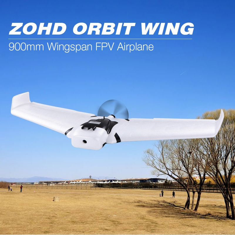 Get 20$ off ZOHD ORBIT WING 900mm Wingspan Brushless Flying Delta Wing EPP FPV RC Airplane