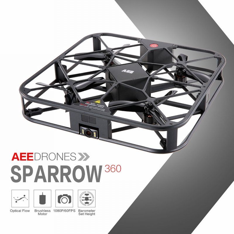 Get 15$ for AEE Drones Sparrow 360 12MP HD Camera 1080P Wifi FPV Quadcopter Selfie APP Drone
