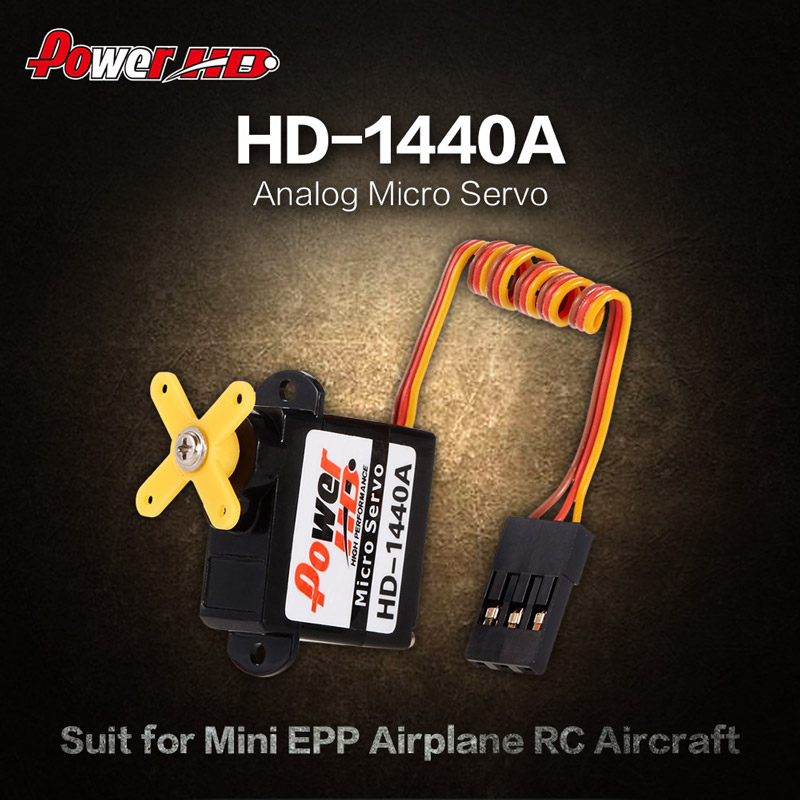 Power HD HD-1440A Analog Micro Servo for Mini EPP Airplane RC Aircraft for  Sale - US$5 99 1# | Tomtop