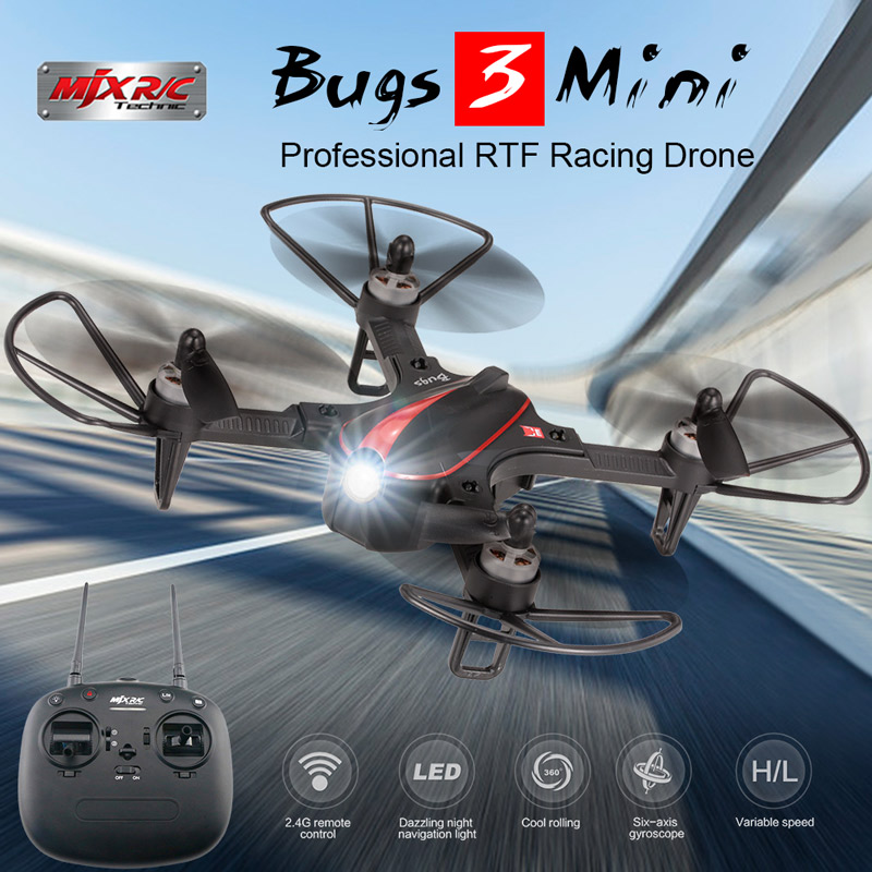 Get 20$ off  for MJX Bugs 3 mini drone Only 82.99$ with code  +