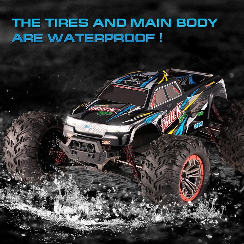 Get $16 Off For XINLEHONG TOYS 9125 1/10 46km/h Waterproof RC Short-course Truck  with code   Only $109.99 +free shipping