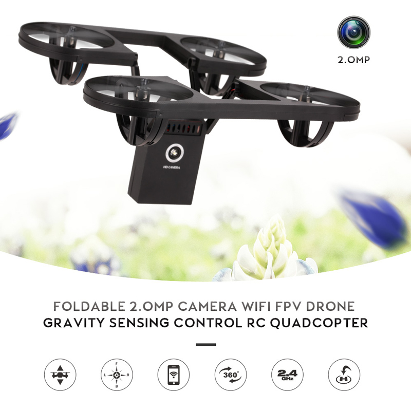 Get 5$ off for TYRC TY6-1 Foldable 2.0MP Camera Wifi FPV Drone Only 44.99$ with code  +