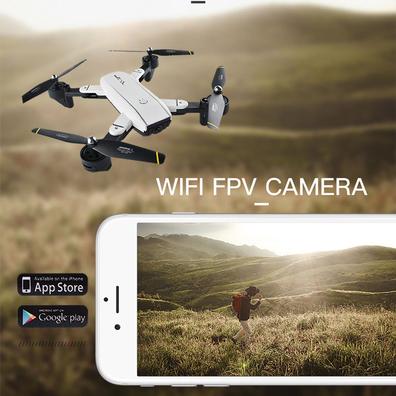 4# SG700 2 0MP Camera Wifi FPV Foldable 6-Axis Gyro Optical Flow  Positioning Altitude Hold Headless RC Quadcopter - RcMoment com