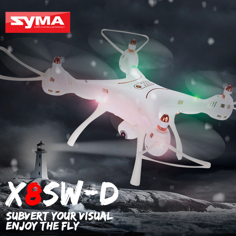 Get 15$ off Original Syma X8SW-D Adjustable 720P Camera Wifi FPV Drone