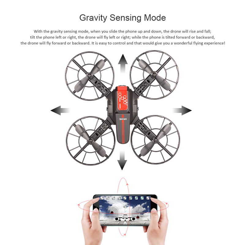 0 3MP Camera Wifi FPV DIY Drone Altitude Hold 3D Flip Quadcopter RC Toy  Children Gift for Sale - US$34 99 other | Tomtop