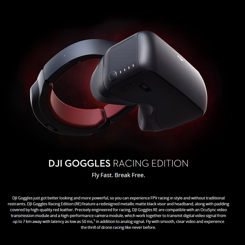 $40 OFF DJI VR Goggles Dual 1080P HD Racing Edition Verson,free shipping $609