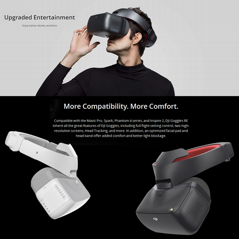 Get $60 Off For Original DJI GOGGLES RACING EDITION Dual 1080P HD 2.4/5.8GHz FPV Monitor with code  Only $590.99 +free shipping