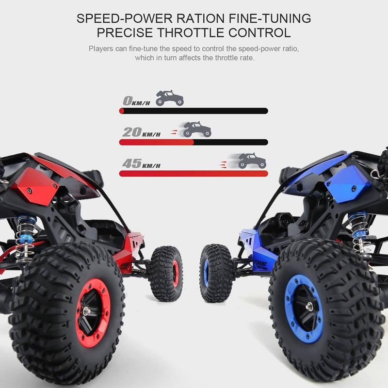 Get  $  Off For JJRC Q46 1/12 2.4G 4WD 45km/h High Speed RC Buggy Car Desert Truck RTR for Kids Gift Children Toy with code   Only $69.99 +free shipping