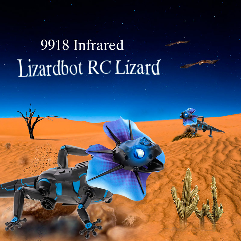 $3 OFF 9918 Infrared 4 Modes RC Lizard,free shipping $18.99