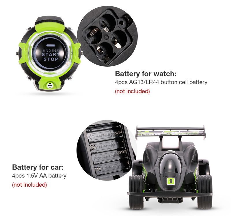 #1 1/16 2 4GHz Smart Watch Control RC Car Voice Control Speed Car Toy  Vehicle Kids Toy Birthday Gift Present - RcMoment com