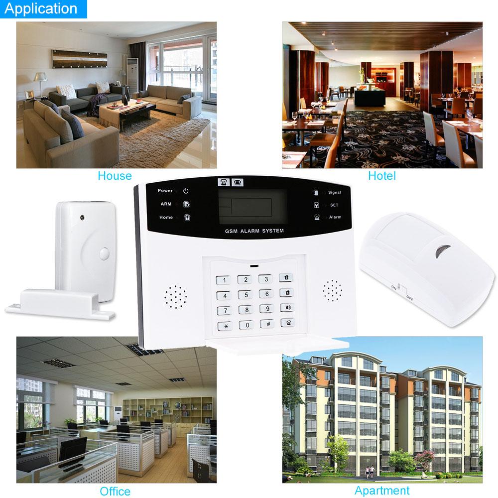 Migliore wireless gsm sms home antifurto sicurezza allarme - Sistema allarme casa migliore ...