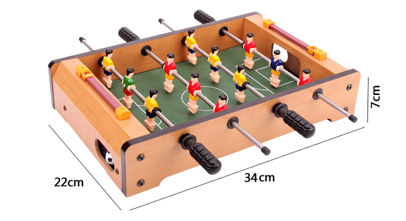 Beautiful Quick, Easy Assembly Soccer Game Table, And Score Markers For Each Goal.  360° Rotated Built In Soccer Figures, 4 Rows, 3 Players Each Row, 2 Rows  For Each ...