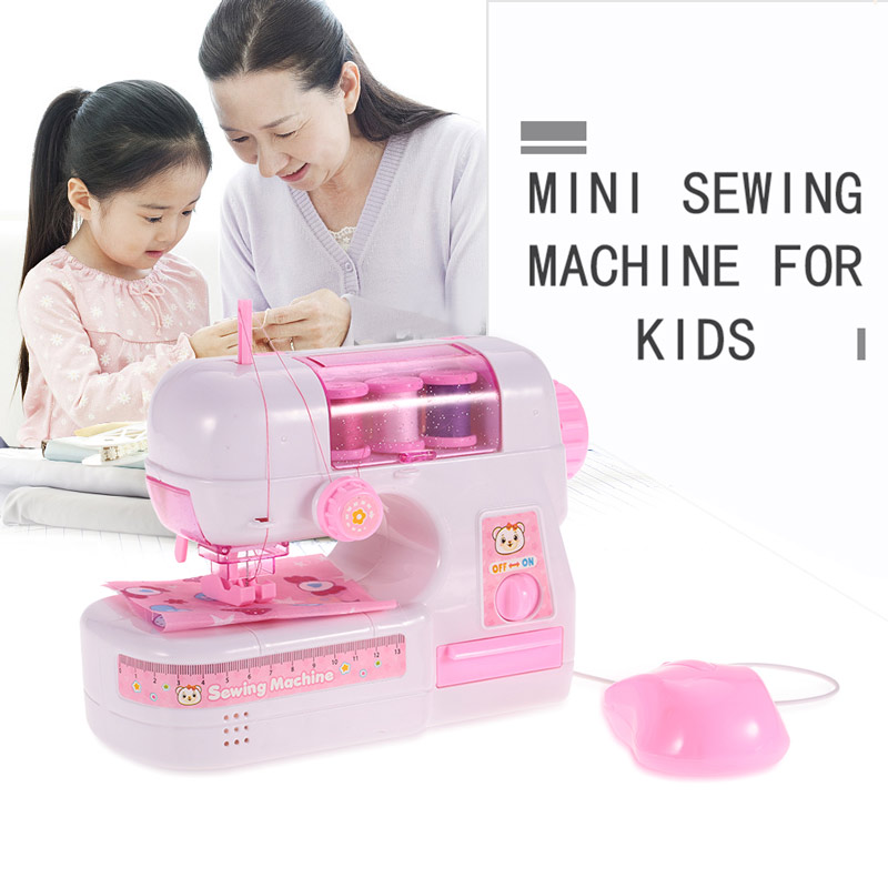 $4 OFF Electric Sewing Machine Toy Kids Pretend Play,free shipping $15.99
