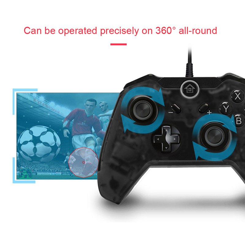 Wired Pro Gaming Controller Gamepad for Nintendo Switch Console for ...